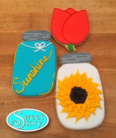 Sunny and Sweet cookies to make your day brighter!