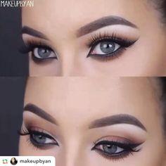 Repost from the perfect @makeupbyan  ____________________________________makeupbyanFirst tutorial I posted on my YouTube. Also one of my most popular YouTube videos. Link to my channel is in my bio ____________________________________#hudabeauty#anastasiabeverlyhills #anastasiabrows#vegas_nay #wakeupandmakeup#motivescosmetics #makeupmafia#makeuptutorialsx0x #makeupfanatic1#makeupbyevon #makeup #maccosmetics#makeupartist #makeupmafia#universodamaquiagem_oficial…