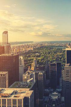 Manhattan, New York City and Central Park, by Zsolt Hlinka