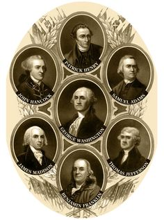Founding Fathers // called terrorists by this presidents' peons.