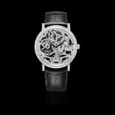 White gold Diamond Ultra-thin skeleton Watch G0A38125 - Piaget Luxury Watch Online