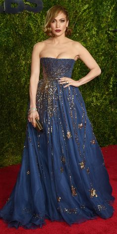 Tony Awards 2015: See All the Best Looks - Jennifer Lopez from #InStyle