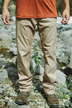 Men's Crooked Creek Pant - Everything you love about your favourite jeans, but in a technical fabric. Made from quick drying ultra-lite stretch denim, our Crooked Creek Pant is perfect for a casual look they can wear everyday but demand performance when it's needed. Crooked Creek, Stretch Denim, Casual Looks, Fabric, How To Wear, Tejido, Tela, Cloths, Fabrics