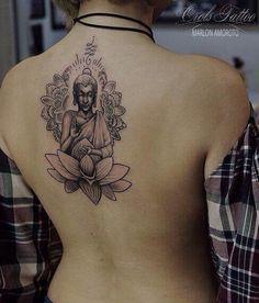 Sak kyant buddha mandala tattoo