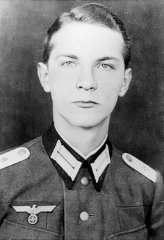 """Leutnant Ewald-Heinrich von Kleist (1922-2013) was one of the conspirators involved in the """"July 20 Plot"""" to kill Adolf Hitler with a bomb in 1944. Von Kleist was one of a select group of officers who were to lead a coup in Berlin after Hitler was dead. The bomb did not kill Hitler, however, and dozens of conspirators (including von Kleist's father) were arrested and executed. Von Kleist was the last surviving member of the plot."""