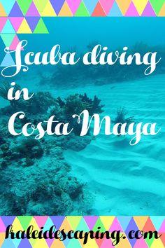 Scuba Diving in Costa Maya – kaleidescaping Carnival Cruise Reviews, Costa Maya, Dive Resort, Roatan, All Is Well, Open Water, Caribbean Cruise, Central America, Scuba Diving