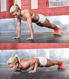 Perfect form push up