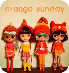 Orange Sunday by ⚓char⚓, via Flickr
