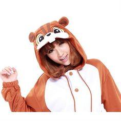 Kigurumi Adult Animal Onesies - Squirrel - Shipping Cap Promotion- - TopBuy.com.au