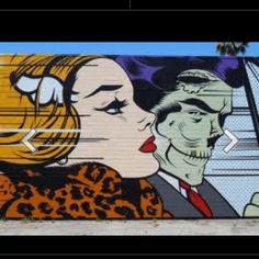 Zombie pop art