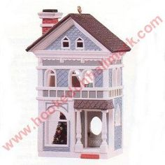 Victorian Home, Nostalgic Houses & Shops Series Hallmark Ornament, 1990. I have this one.