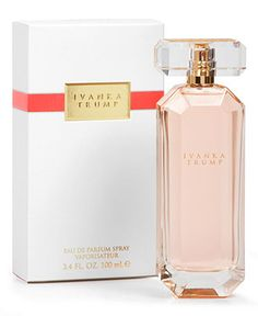 """Ivanka Trump Fragrance:  """"The scent that lingers longer than *he* does.""""  #charlesdiago @heathgirl #abfab"""
