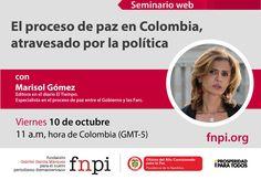 ¿Cómo afecta el juego político la cobertura periodística del proceso de paz en Colombia? Separa tu cupo en el seminario web que tendremos este viernes 10 de octubre:  http://www.fnpi.org/noticias/noticia/articulo/el-proceso-de-paz-en-colombia-atravesado-por-la-politica/
