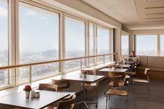 Cafeteria TU Skyline Mensa im 20 Stock - Über den Dächern von Berlin