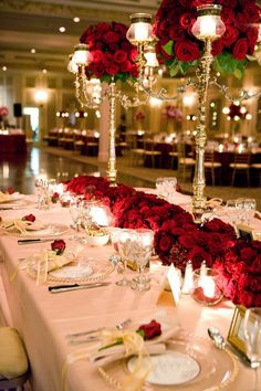 Elegant Photo of Frugal Wedding Decor Frugal Wedding Decor Inexpensive Wedding Centerpieces S Simple Reception Decorations Easy Wedding Table Settings, Red Table Settings, Setting Table, Halo Setting, Place Settings, Christmas Wedding, Fall Wedding, Elegant Wedding, Wedding Black