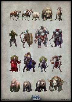 Bestiary 5 by ~Belibr on deviantART