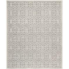 Safavieh Handmade Cambridge Moroccan Silver Wool Rug (6' x 9')   Overstock.com
