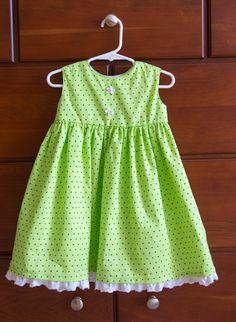 McCall's M6015 - size 2 - summer girl dress