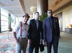 David Lee, Russell Westbrook, and Kevin Durant