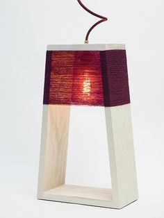 Nul 5 Lamp Dark Red - Limited Edition | Ditte Maigaard Studio