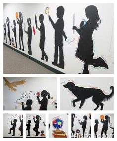 subjects School Art – Our Silhouette Mural is Finished! – Helena Reilly subjects School Art – Our Silhouette Mural is Finished! subjects School Art – Our Silhouette Mural is Finished! Group Art Projects, School Art Projects, Clay Projects, Collaborative Art Projects For Kids, Collaborative Mural, Middle School Art, Art School, High School, School Ideas