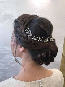 wedding hairstyles asian hair wedding hairstyles asian hair Soft, shiny, silky and. Wedding Hair Side, Romantic Wedding Hair, Wedding Hair And Makeup, Black Hair Wedding Styles, Asian Wedding Hair, Perfect Wedding, Romantic Hairstyles, Creative Hairstyles, Bride Hairstyles