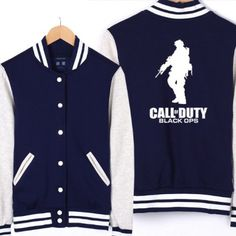 Baseball Jacket Call of Duty Game Clothing | IdolStore