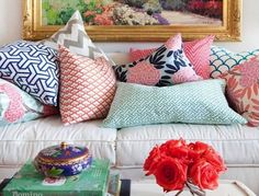 Красивые декоративные подушки для уюта в доме — великолепные…