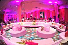 Modern Candy & Baking Theme Bat Mitzvah Pink Candy Bat Mitzvah Lounge ...