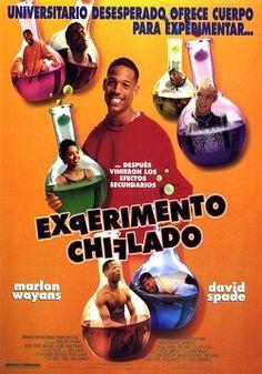 """Ver película Experimento Chiflado online latino 1998 VK gratis completa HD sin cortes audio español latino online. Género: Comedia Sinopsis: """"Experimento Chiflado online latino 1998 VK"""". """"Un loco superdotado"""". """"Senseless"""". Darryl Witherspoon es un joven estudiante de ec"""