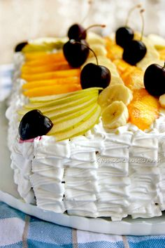 "Кулинарная книга Алии: 595. Торт ""Тропиканка"""