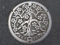 Manhole cover in Japan - Imgur