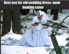 Haha hunting humor