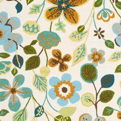Delilah Rug - blue/green color palette