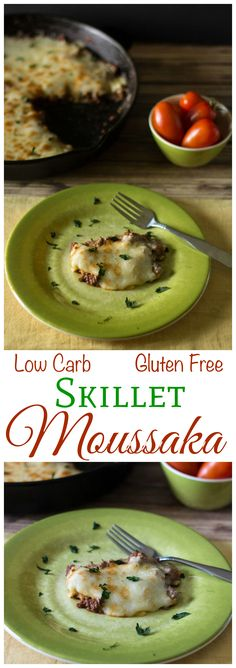 Have you ever tried a skillet moussaka recipe? If you prefer cooking on the stove, try this low carb gluten free moussaka in a skillet for dinner. A yummy LCHF Banting Keto recipe. Healthy Low Carb Recipes, Primal Recipes, Thm Recipes, Cooking Recipes, Zone Recipes, Oven Cooking, Delicious Recipes, Tasty, Induction Recipes