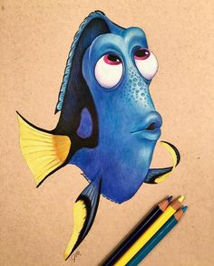 cool Dory drawing