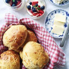Gulerodsboller Cornbread, Easy Meals, Potatoes, Yummy Food, Treats, Dessert, Vegetables, Cooking, Ethnic Recipes