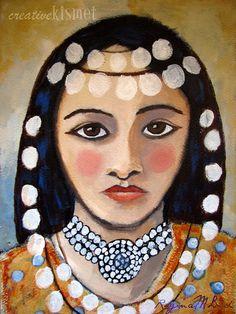girl portrait by regina lord;