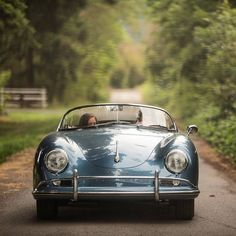 For the Love of All Things German and Air Cooled Retro Cars, Vintage Cars, Antique Cars, Porsche Models, Porsche Cars, My Dream Car, Dream Cars, Porsche 356 Speedster, Vintage Porsche