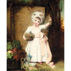 The little girl in this beautiful portrait was the eldest daughter of Charles, 4th Duke of Rutland, one of the artist's most important patrons. Peters painted her in about 1780 at about the same time as the portrait at Belvoir Castle by Reynolds which shows her with her younger brother John.