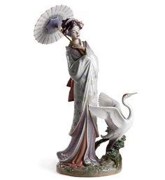 01008253  JAPANESE PORTRAIT   Issue Year: 2007  Sculptor: Miguel Angel Santaeulalia  Size: 39x25 cm