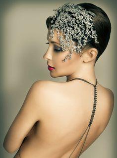 Crystal Fascinator -