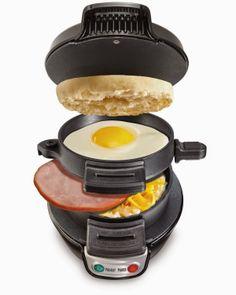hamilton beach, beach breakfast, breakfast sandwiches, kitchen lifestyl, sandwich maker