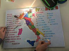 Sapientino Regioni e Capoluoghi, classe 5a - MaestraMarta Montessori, Coding, School, Kids, Happy, Italia, Art, Young Children, Boys