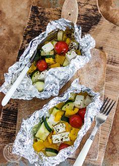 Feta, Kamado Bbq, Happy Foods, Healthy Diet Recipes, Bbq Party, Barbecue Recipes, Food Inspiration, Tapas, Good Food