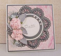 Best of Betsy's: Birthday Cards using BoBunny's Madeleine Collection and Marianne Creatables Die, LR0180.