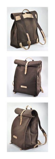 Backpack mk handbags Jerome Lancelot on Original Design Retro Backpack by QQBoutique on Etsy, Retro Backpack, Backpack Bags, Leather Backpack, Leather Bag, Mk Handbags, Handbags Michael Kors, Diy Sac Pochette, Sac Week End, Mk Bags
