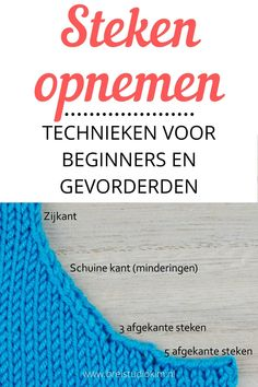 Knitting Stitches, Knitting Patterns, Knit Crochet, Crochet Hats, Needle And Thread, Handicraft, Sewing Projects, Wool, Creative