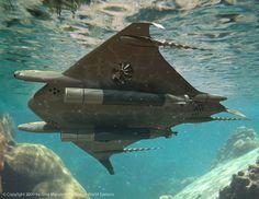 подводный аппарат концепт