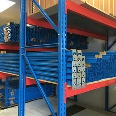 Pallet Racking Now In Stock Next Day Delivery! Quality at Low Cost View our range of Shop Shelving, Steel Shelving, Garage Shelving, Metal Shelves, Steel Storage Rack, Shop Storage, Industrial Led Lighting, Warehouse Shelving, Heavy Duty Racking
